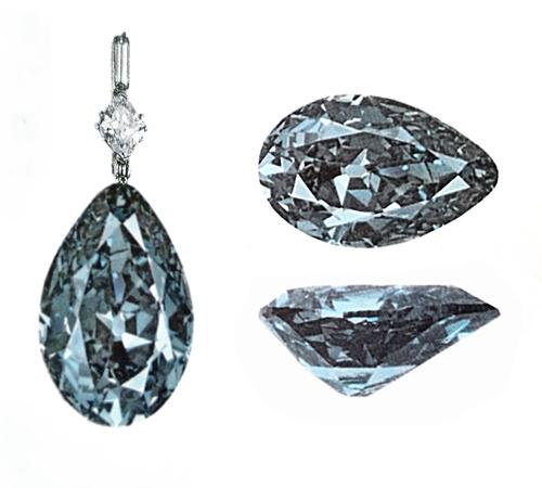 diamant albastru Mouawad